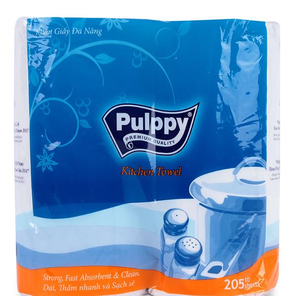 Khăn Giấy Đa Năng Pulppy Classic (2 Cuộn) - 1027339 , 9978423458283 , 62_3009553 , 25900 , Khan-Giay-Da-Nang-Pulppy-Classic-2-Cuon-62_3009553 , tiki.vn , Khăn Giấy Đa Năng Pulppy Classic (2 Cuộn)