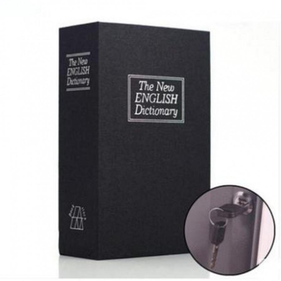 Két sắt mini hình quyển sách an toàn tiện dụng