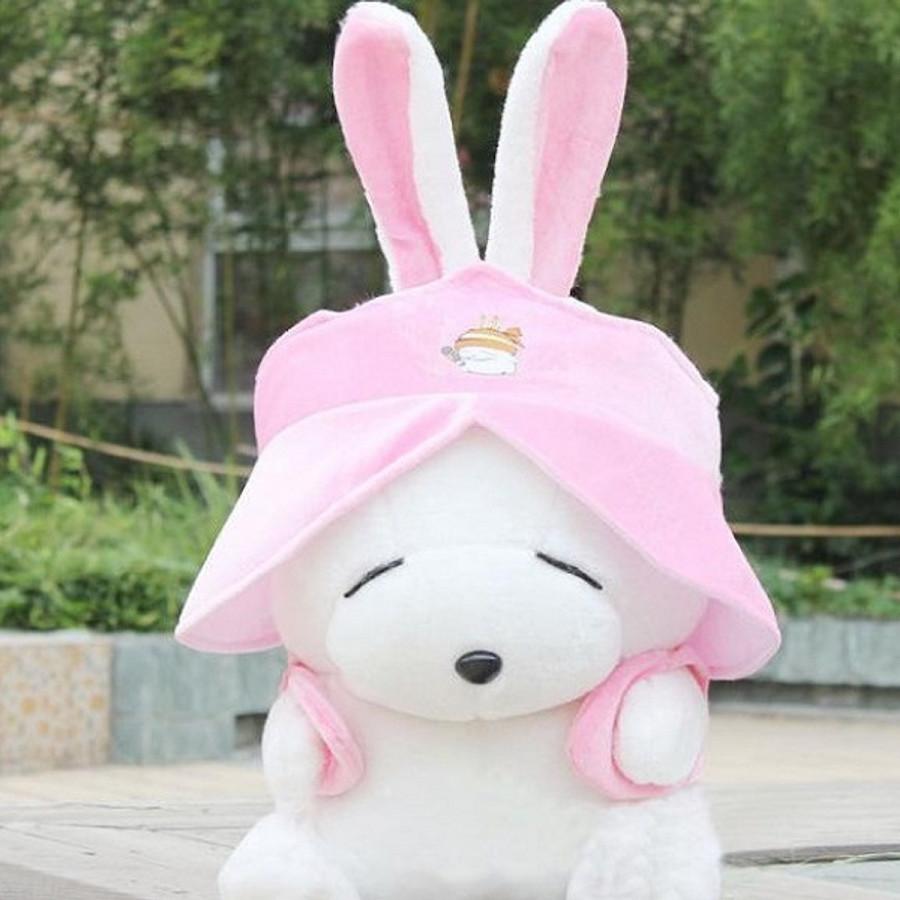 Thú Bông Thỏ Mashimaro Siêu Đáng Yêu 60cm - Màu Hồng
