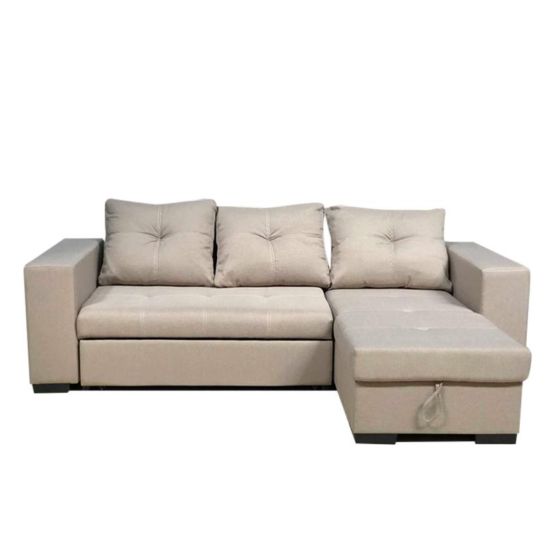 Sofa Bed Góc L Vải Bố TG04-SD2450 - 1167529 , 5972762252964 , 62_5070613 , 14000000 , Sofa-Bed-Goc-L-Vai-Bo-TG04-SD2450-62_5070613 , tiki.vn , Sofa Bed Góc L Vải Bố TG04-SD2450
