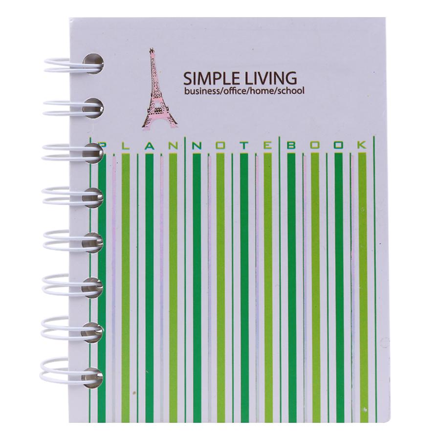 Sổ Lò Xo Simple Living - Mẫu Ngẫu Nhiên