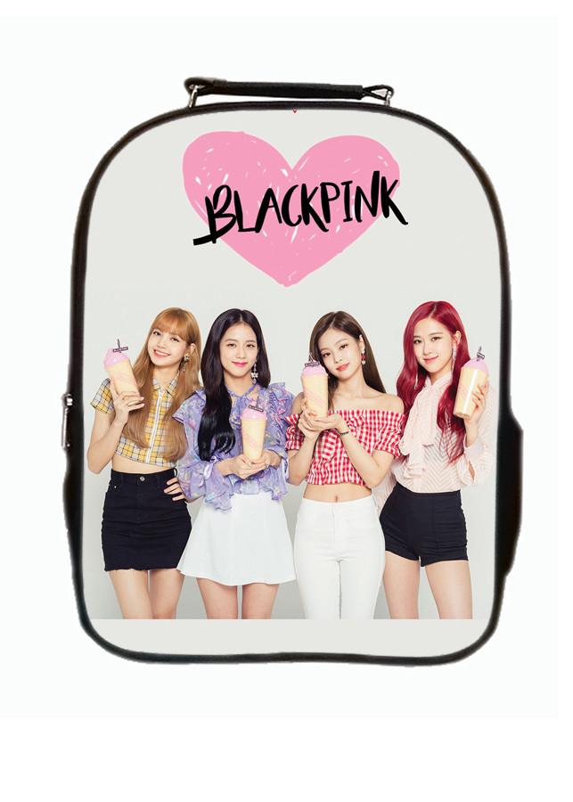 Balo 2 ngăn TROY in hình nhóm Black Pink 4