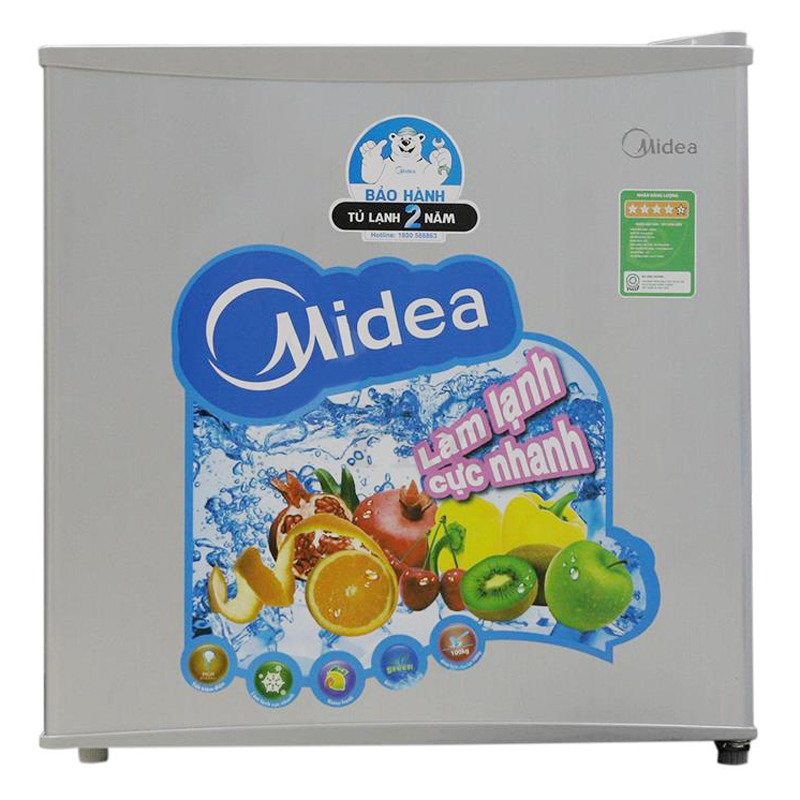 Tủ Lạnh Mini Midea HS-65SN (45L) - Xám Bạc - 1127322 , 9684337129644 , 62_4290907 , 2580000 , Tu-Lanh-Mini-Midea-HS-65SN-45L-Xam-Bac-62_4290907 , tiki.vn , Tủ Lạnh Mini Midea HS-65SN (45L) - Xám Bạc