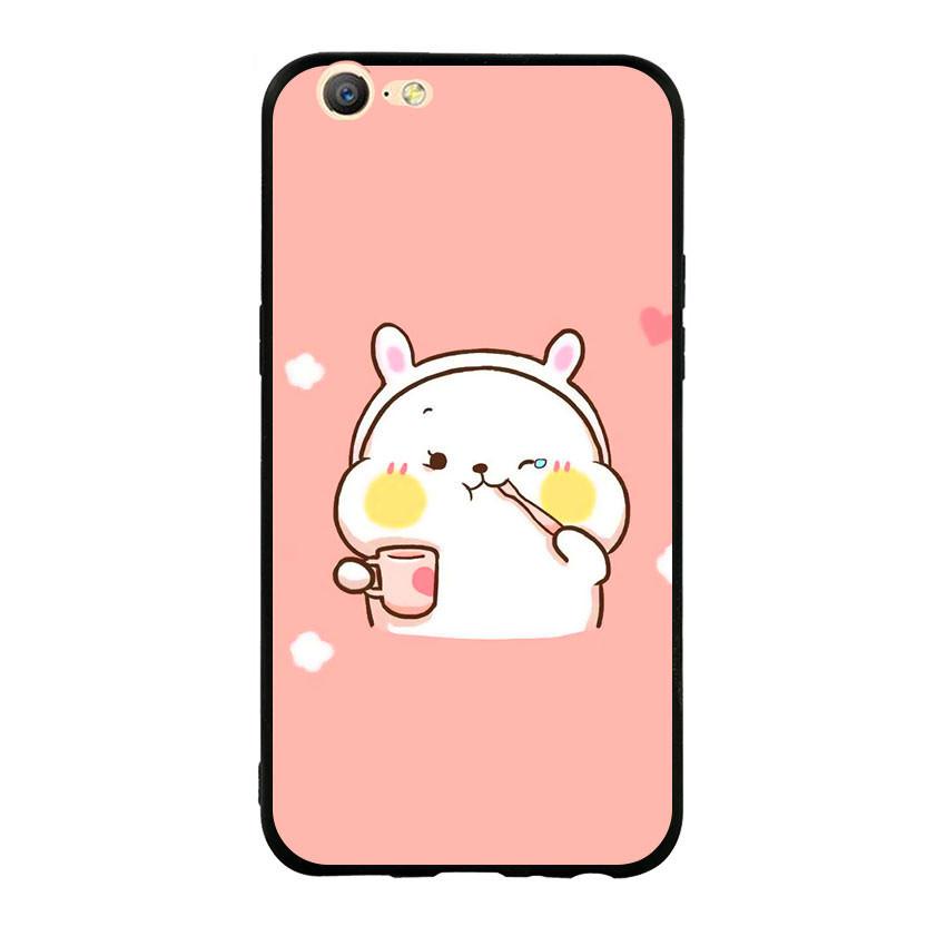 Ốp lưng viền TPU cho điện thoại Oppo F3 Lite (A57) - Cute 06