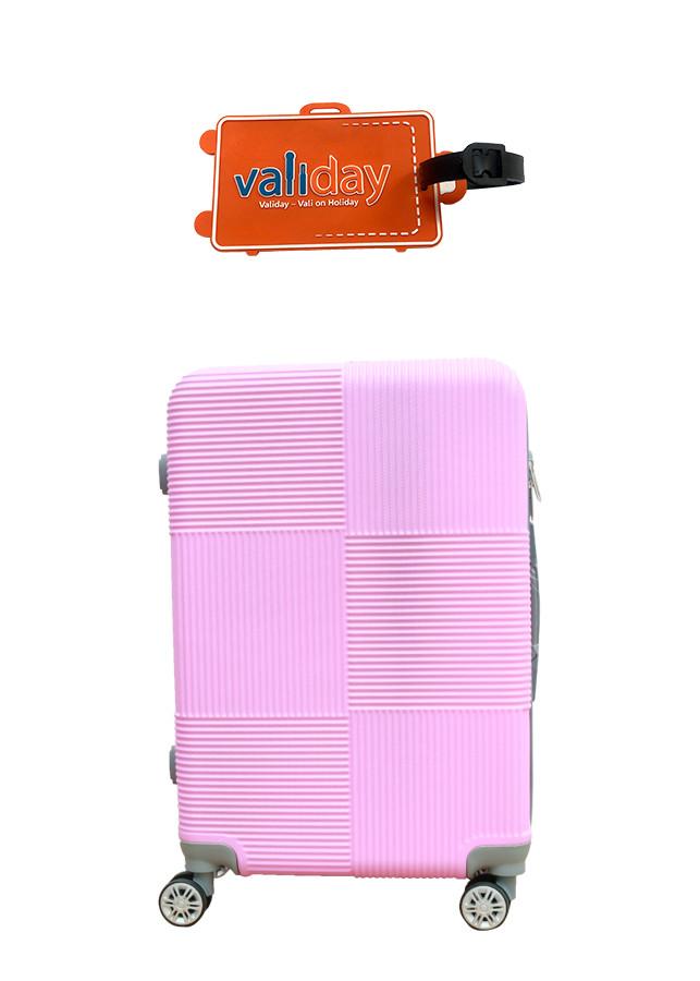 Combo Du lịch Vali kéo - Nametag Validay màu hồng neon 820 - 2119774 , 7068203262611 , 62_13456219 , 828000 , Combo-Du-lich-Vali-keo-Nametag-Validay-mau-hong-neon-820-62_13456219 , tiki.vn , Combo Du lịch Vali kéo - Nametag Validay màu hồng neon 820