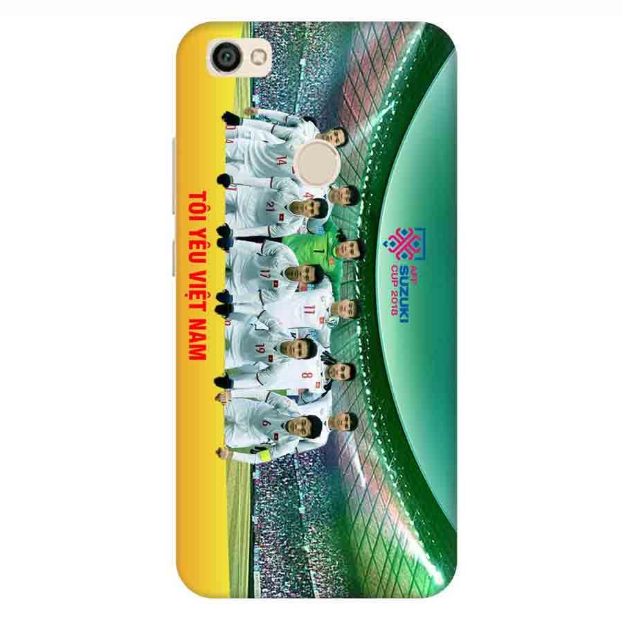 Ốp Lưng Dành Cho Xiaomi Note 5A AFF Cup Đội Tuyển Việt Nam - Mẫu 3