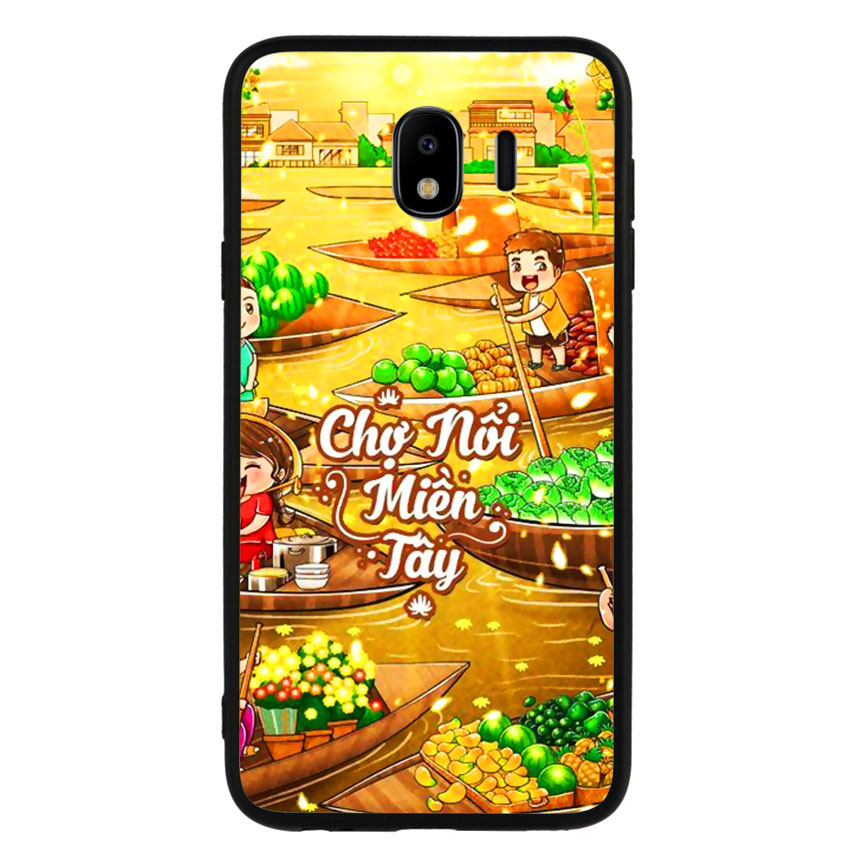 Ốp Lưng Viền TPU cho điện thoại Samsung Galaxy J4 2018 -Chợ Nổi Miền Tây