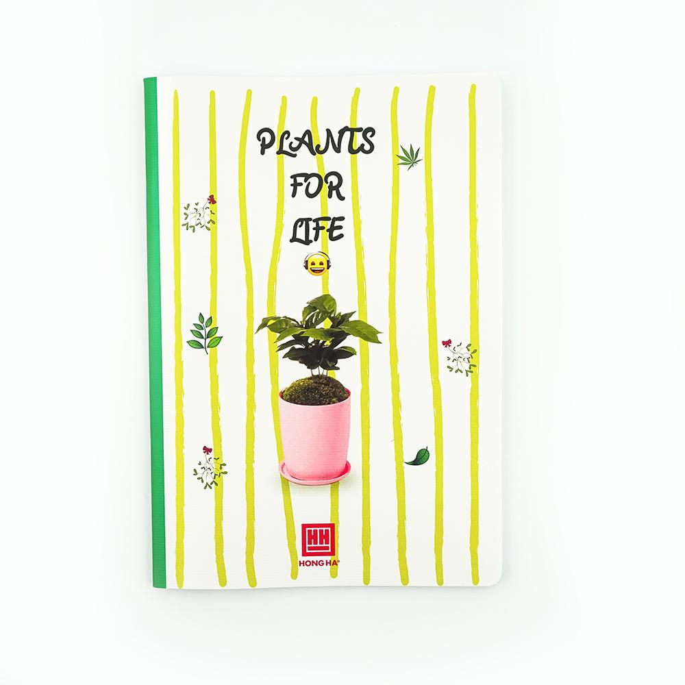Vở kẻ ngang 120 trang Study Plants 1416 (10 quyển)