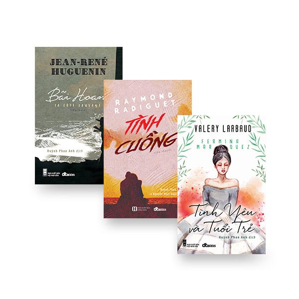Combo dịch giả Huỳnh Phan Anh (Tình cuồng + Bãi hoang + Tình yêu và tuổi trẻ) - 776865 , 5238367843571 , 62_11285220 , 274000 , Combo-dich-gia-Huynh-Phan-Anh-Tinh-cuong-Bai-hoang-Tinh-yeu-va-tuoi-tre-62_11285220 , tiki.vn , Combo dịch giả Huỳnh Phan Anh (Tình cuồng + Bãi hoang + Tình yêu và tuổi trẻ)