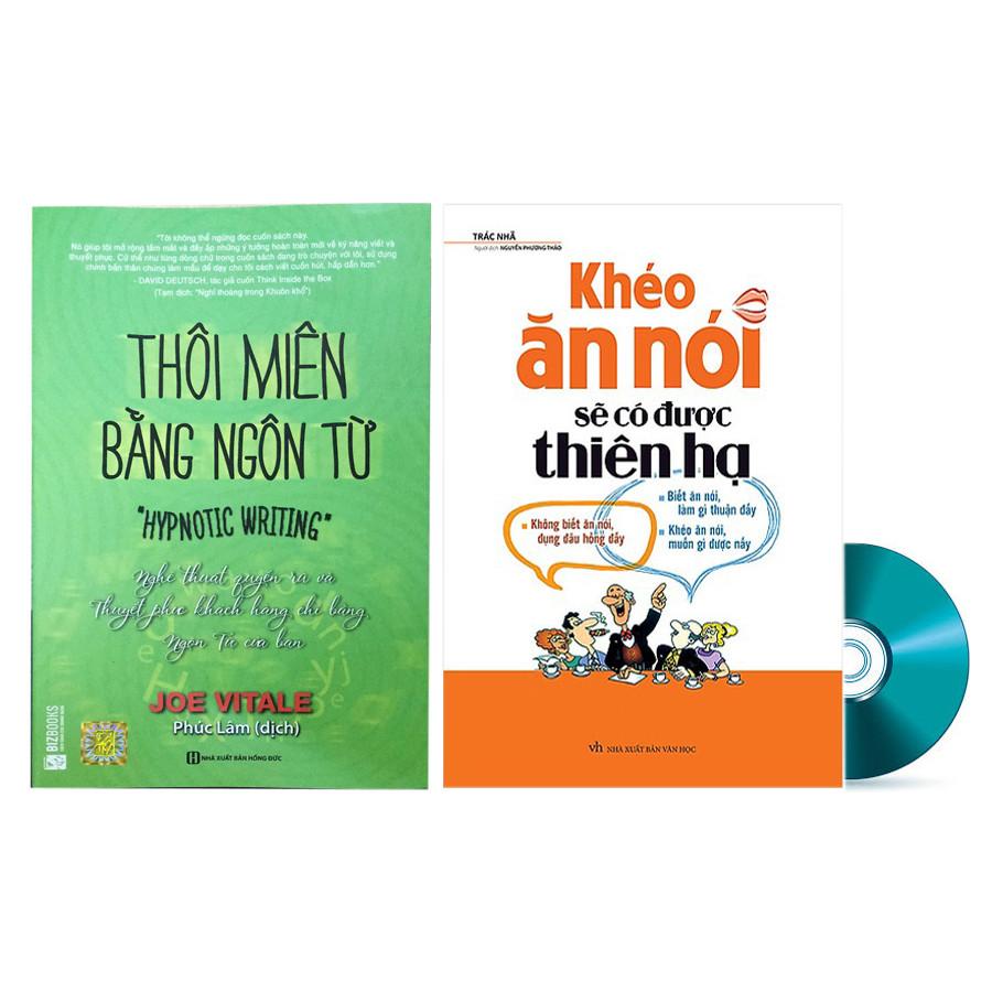 Combo Thôi Miên Bằng Ngôn Từ Và Khéo Ăn Nói Sẽ Có Được Thiên Hạ Tặng DVD Bí Kíp Thu Phục Lòng Người Bằng Tử... - 1578017 , 3193010869402 , 62_10381441 , 279000 , Combo-Thoi-Mien-Bang-Ngon-Tu-Va-Kheo-An-Noi-Se-Co-Duoc-Thien-Ha-Tang-DVD-Bi-Kip-Thu-Phuc-Long-Nguoi-Bang-Tu...-62_10381441 , tiki.vn , Combo Thôi Miên Bằng Ngôn Từ Và Khéo Ăn Nói Sẽ Có Được Thiên Hạ Tặng DV