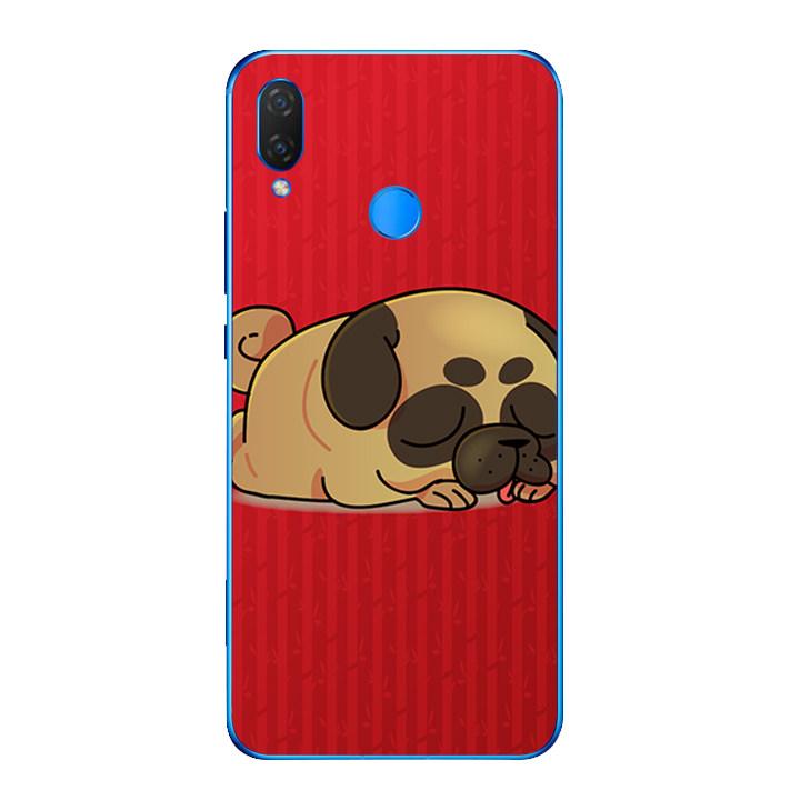 Ốp lưng dẻo cho điện thoại Huawei Y9 2019 - Cute Dog 03