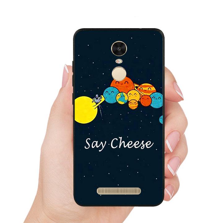 Ốp lưng viền TPU cho Xiaomi Redmi Note 4 - Say Cheese