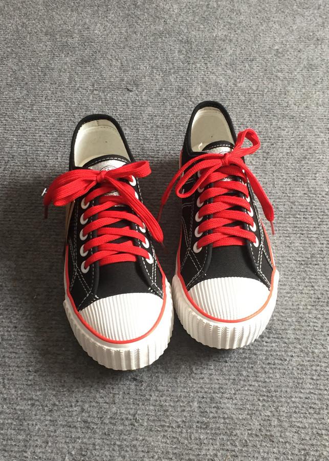 Giày Thể Thao Vải Nữ Hàn Quốc Mũi Sò