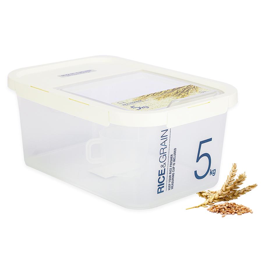 Thùng Đựng Gạo Bằng Nhựa LockLock HPL560 - 5kg/ 6.5L