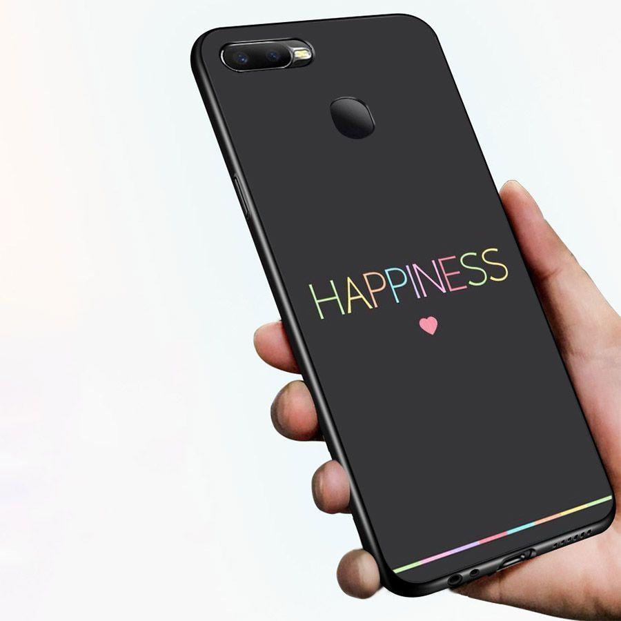 Ốp kính cường lực dành cho điện thoại Oppo F9 - A7 - lời trích truyền cảm hứng - quotes - cam2061