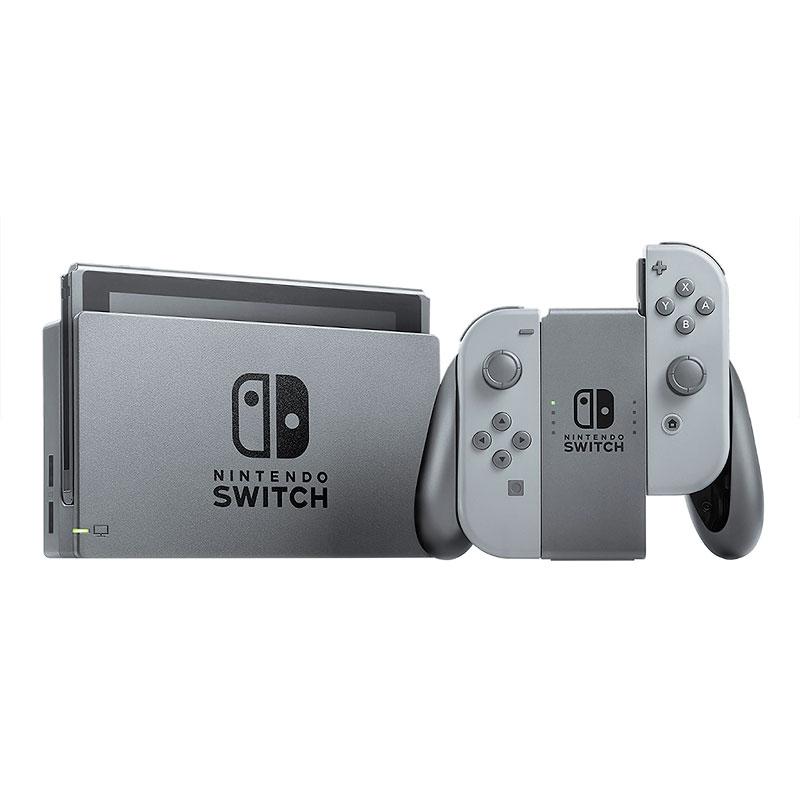 Máy Chơi Game Nintendo Switch Với Neon Gray Joy‑Con (Xám) - Hàng Nhập Khẩu
