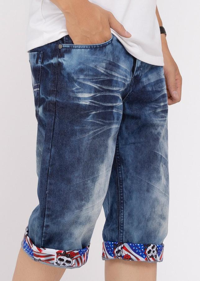 Quần Short Jeans Nam A91 JEANS 170 MSRBS170ME (Xanh)