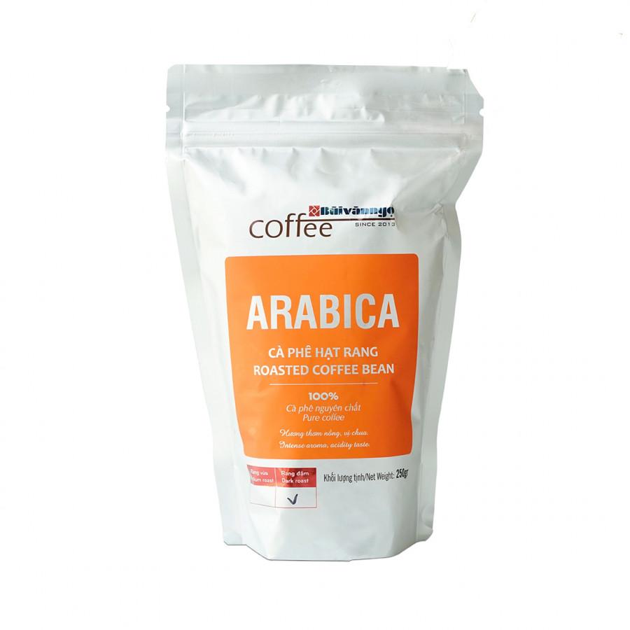 Cà phê hạt rang ARABICA 250gram - Bùi Văn Ngọ Coffee