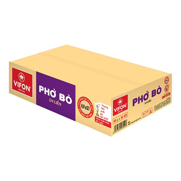 Thùng 30 Gói Phở Bò Vifon (65g / Gói) - 1044178 , 4091196490207 , 62_3249277 , 179000 , Thung-30-Goi-Pho-Bo-Vifon-65g--Goi-62_3249277 , tiki.vn , Thùng 30 Gói Phở Bò Vifon (65g / Gói)