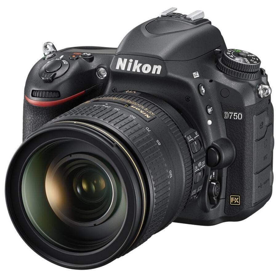 Máy Ảnh Nikon D750 AF-S Nikkor (ED VR 4G f24-120mm) - Hàng nhập khẩu