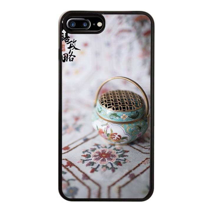 Ốp Lưng Kính Cường Lực Dành Cho Điện Thoại iPhone 7 Plus / 8 Plus Diên Hy Công Lược Mẫu 1