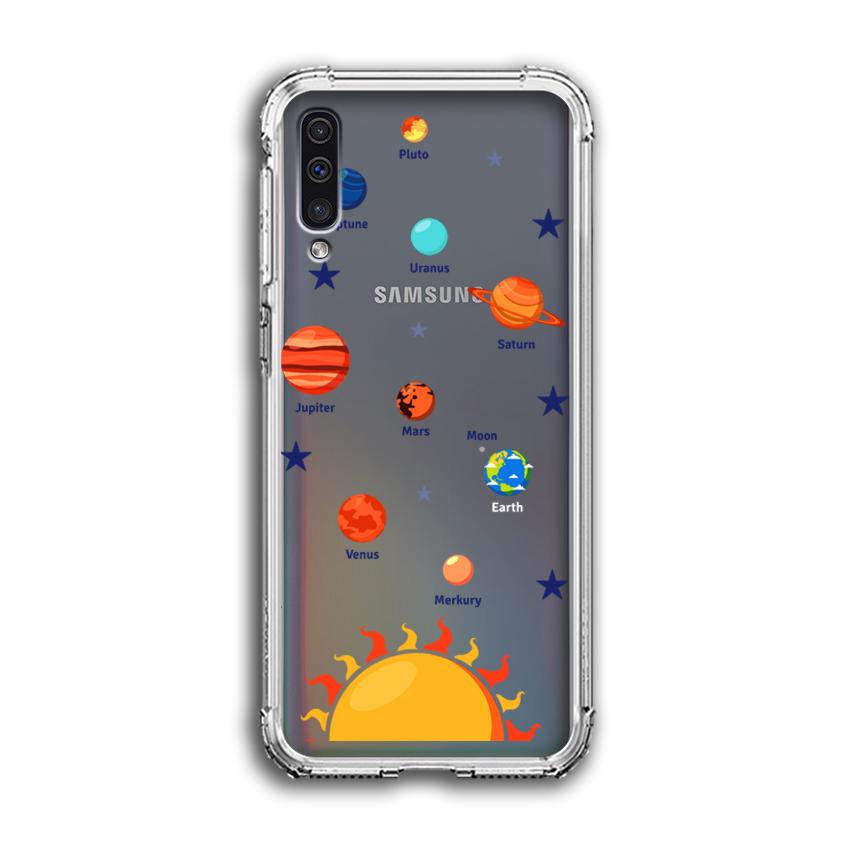 Ốp Lưng Dẻo Chống Sốc cho điện thoại Samsung Galaxy A50 - 04034 0550 SOLARSYSTEM05 - Hàng Chính Hãng