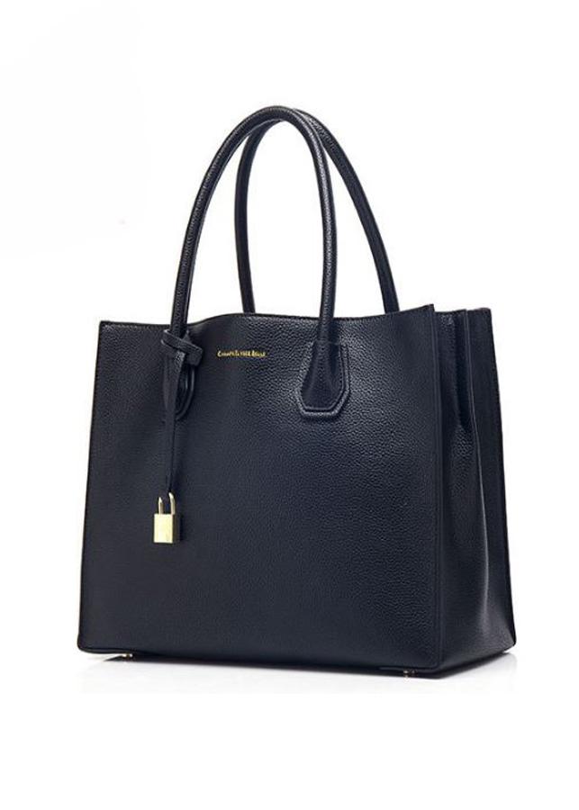 Túi xách thời trang cao cấp phong cách Pháp TX079 - ĐEN