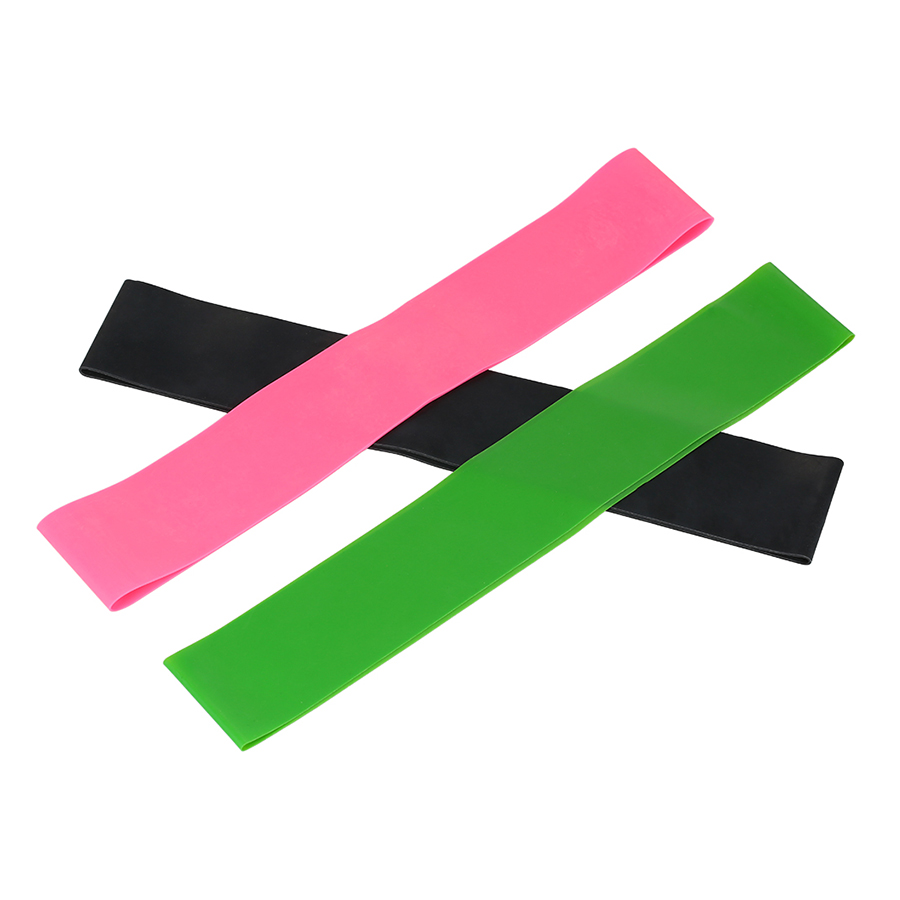 3PCS Sports Exercise Resistance Loop Bands Set Elastic Booty Band Set for Legs and Strength Training