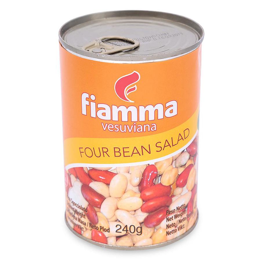 Đậu Hỗn Hợp 4 Loại Fiamma Lon 400g