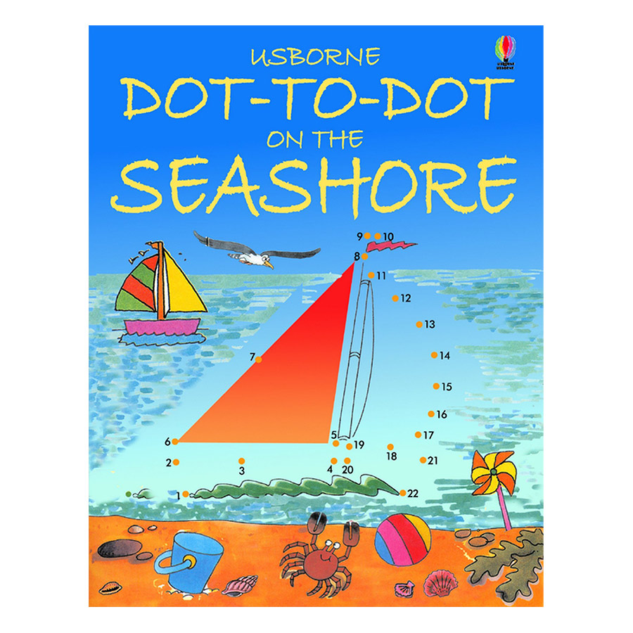 Usborne Dot-to-Dot Seashore