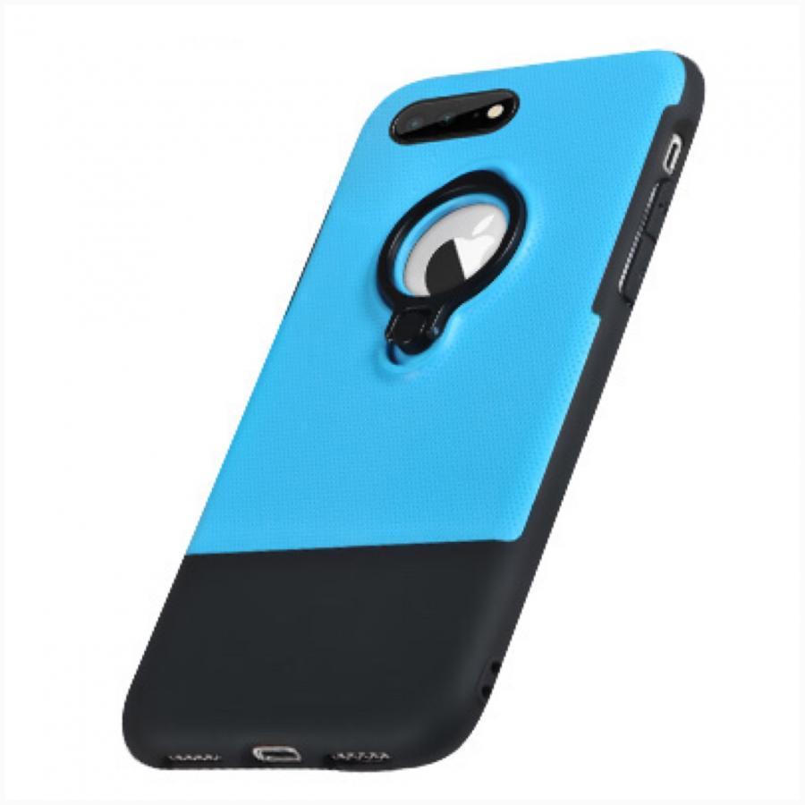 Ốp Lưng dành cho iPhone 8 Plus / 7 plus hiệu X-Fitted Armor iRing 3 trong 1 - xanh dương