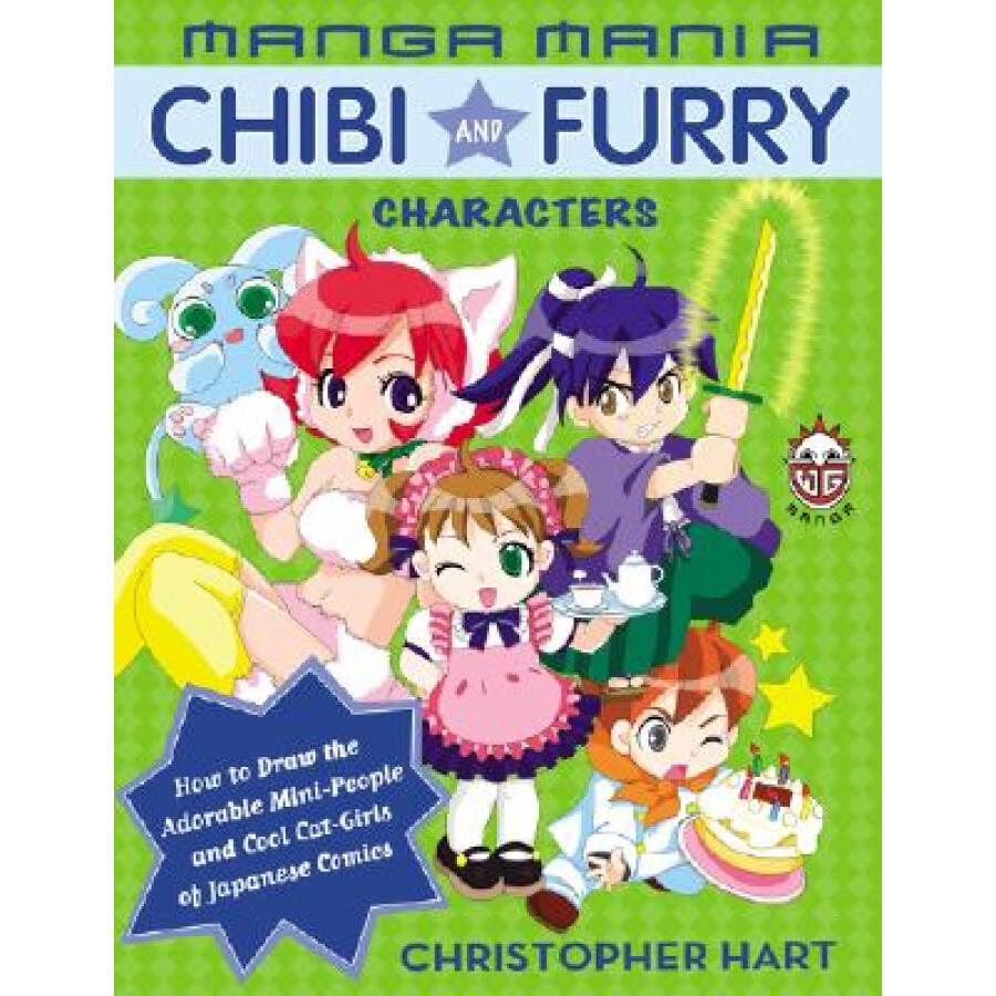 Manga Mania Chibi and Furry Characters - 1235188 , 5158073244205 , 62_5264181 , 347000 , Manga-Mania-Chibi-and-Furry-Characters-62_5264181 , tiki.vn , Manga Mania Chibi and Furry Characters