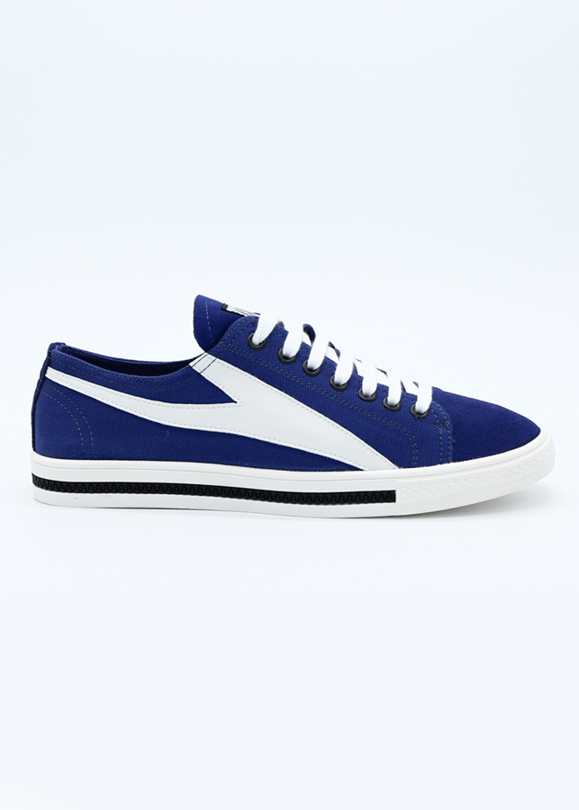 Giày Sneaker Nam Kanglong 283112004 - Xanh Sọc Trắng