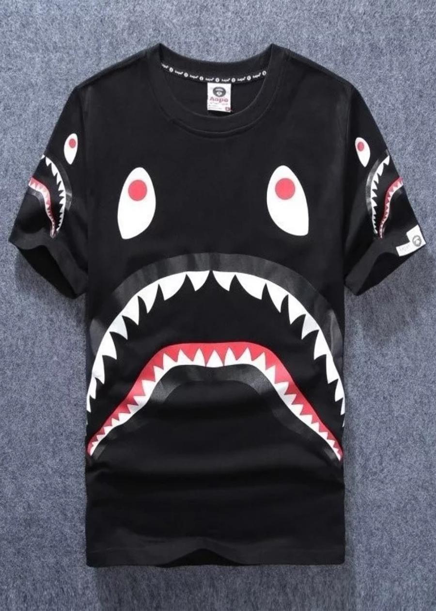 Áo thun Bape Shark - 2068690 , 3688584739768 , 62_12503378 , 200000 , Ao-thun-Bape-Shark-62_12503378 , tiki.vn , Áo thun Bape Shark