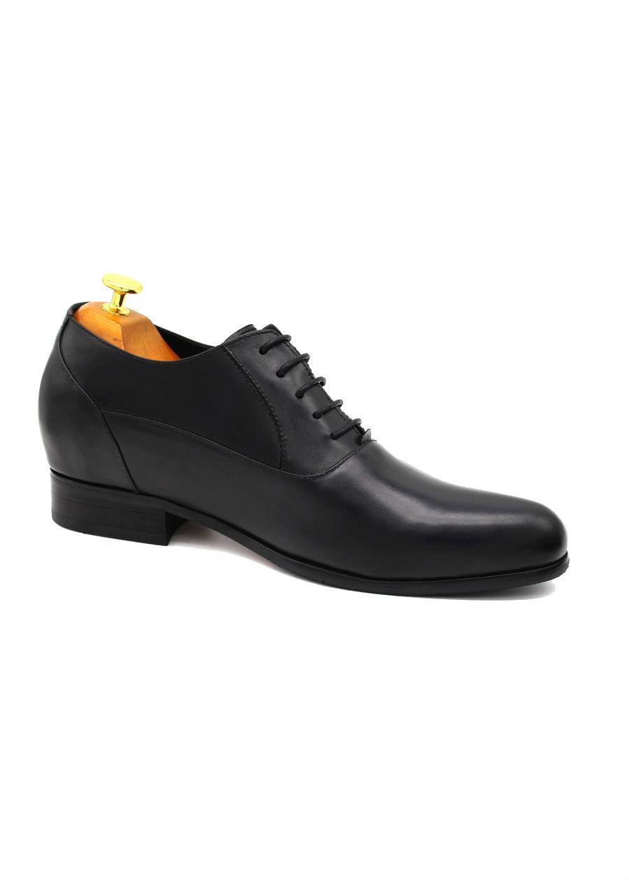 Giày Tây Tăng Chiều Cao Nam Antoni Fernando AF-651-1 - Đen