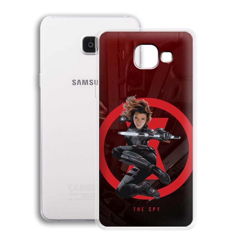 Ốp lưng cho điện thoại Samsung Galaxy A5 2016 / A510 - 01022 0538 SPY01 - Silicone dẻo - Hàng Chính Hãng