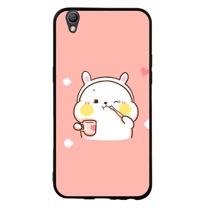 Ốp lưng viền TPU cho điện thoại Oppo Neo 9 - Cute 06
