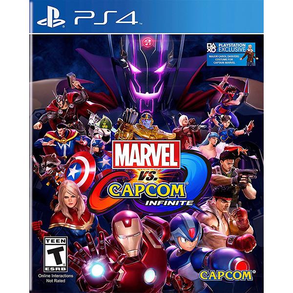 Đĩa game Marvel vs. Capcom Infinite cho PS4 - Hàng Nhập Khẩu