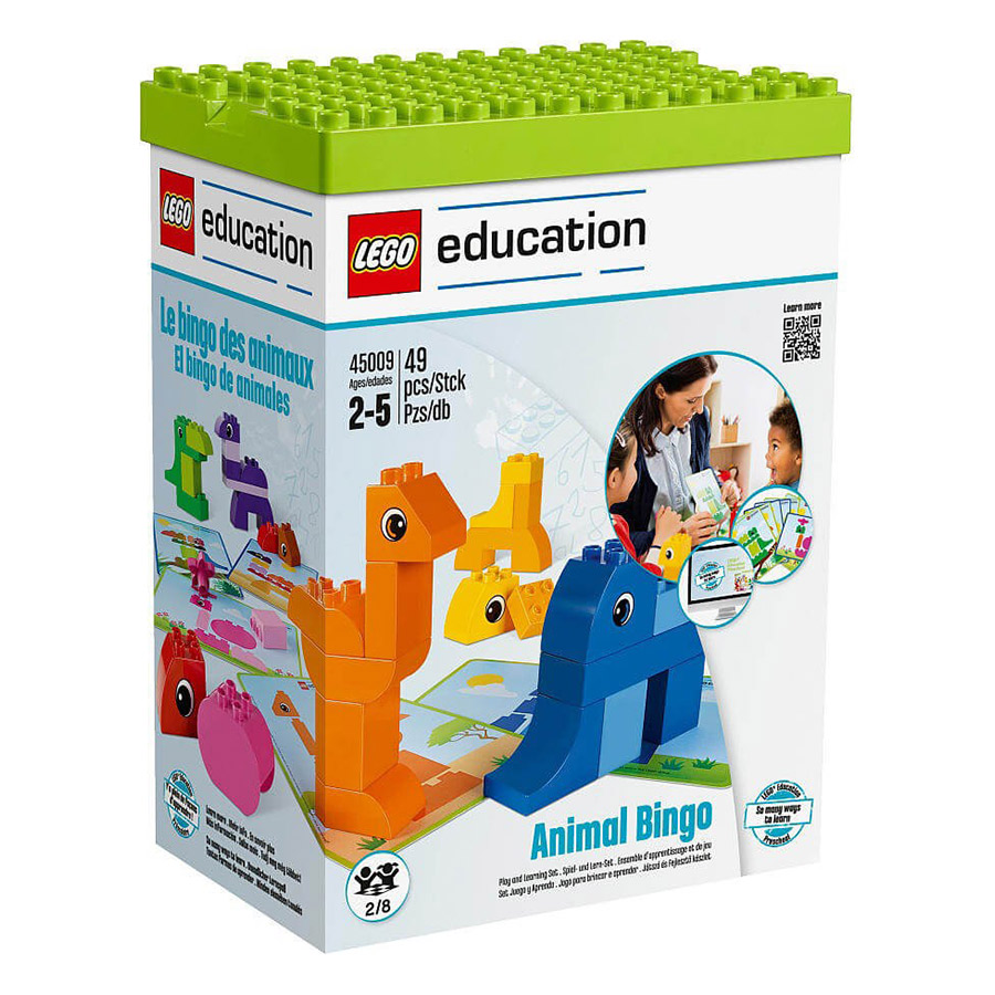 Bộ Xếp Hình Lego Education Sáng Tạo - Động Vật 45009 (49 Mảnh Ghép) - 891291 , 8836358004467 , 62_1569279 , 2169000 , Bo-Xep-Hinh-Lego-Education-Sang-Tao-Dong-Vat-45009-49-Manh-Ghep-62_1569279 , tiki.vn , Bộ Xếp Hình Lego Education Sáng Tạo - Động Vật 45009 (49 Mảnh Ghép)