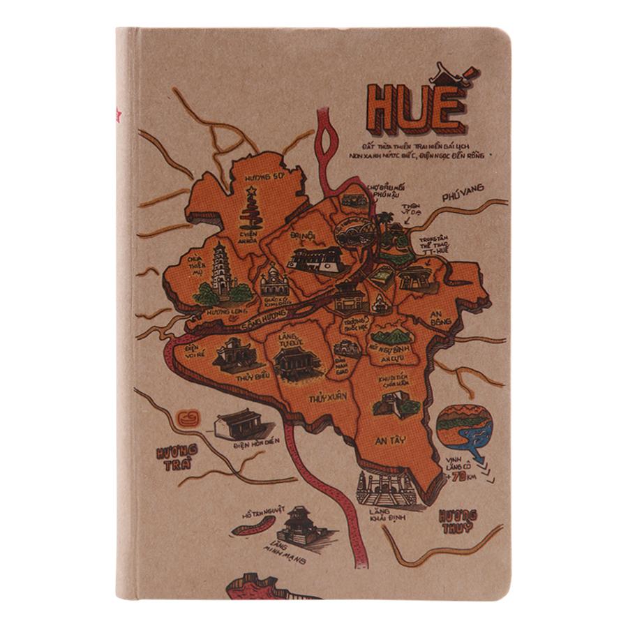 Sổ Tay Phố Thị Du Ký (S) - Huế (100 Trang)