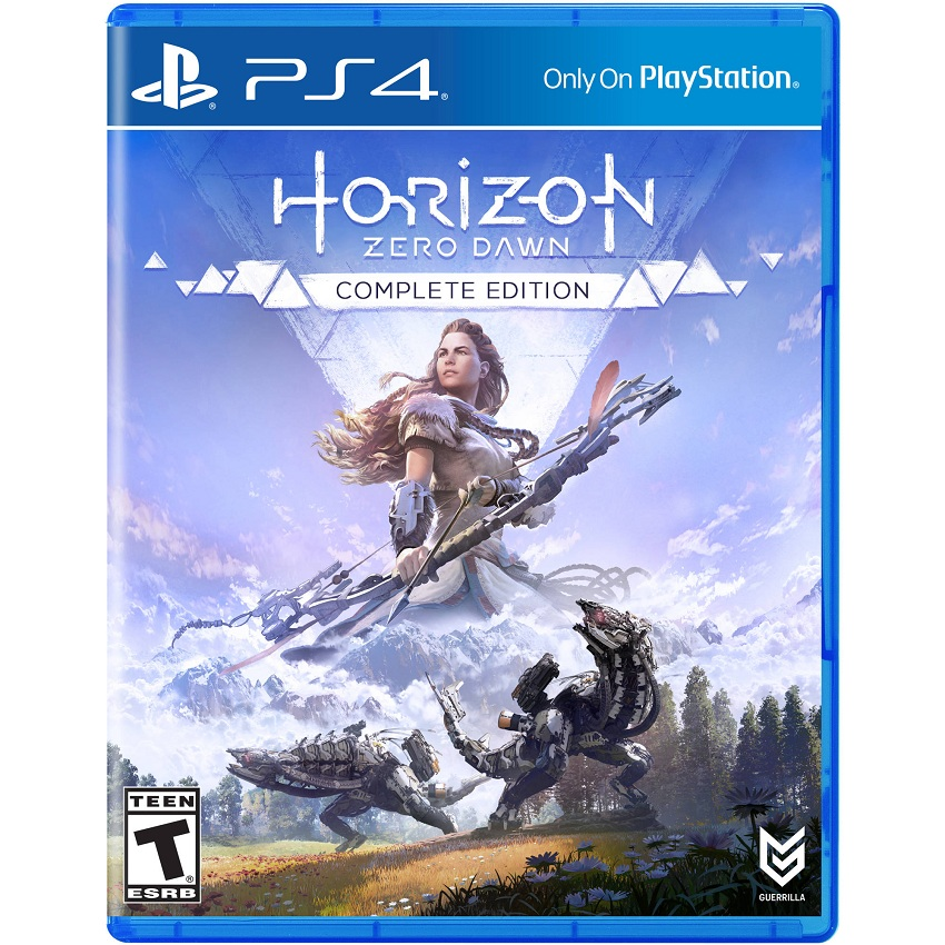 Đĩa Game Ps4: Horizon Zero Dawn Complete Edition