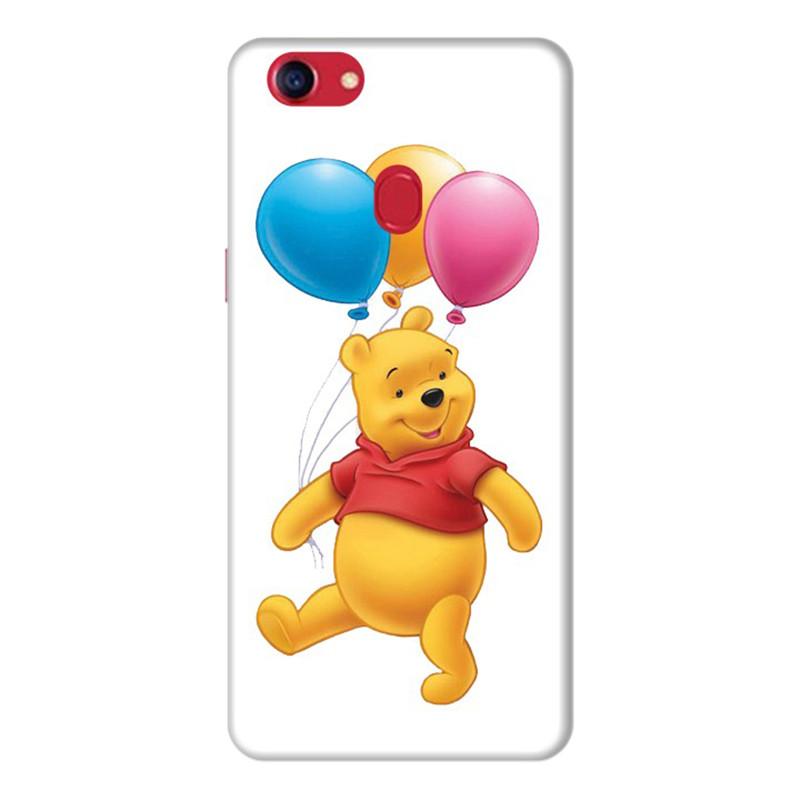 Ốp Lưng Dành Cho Điện Thoai Oppo F7 Gấu Pooh - Mẫu 7
