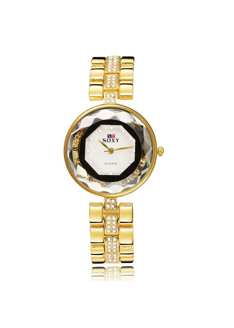 Đồng hồ thời trang nữ dây hợp kim Soxy PKHRSY009