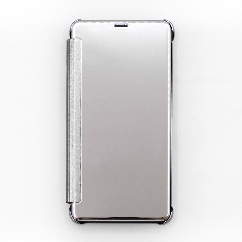 Bao da dành cho Samsung Galaxy J7 Plus tráng gương