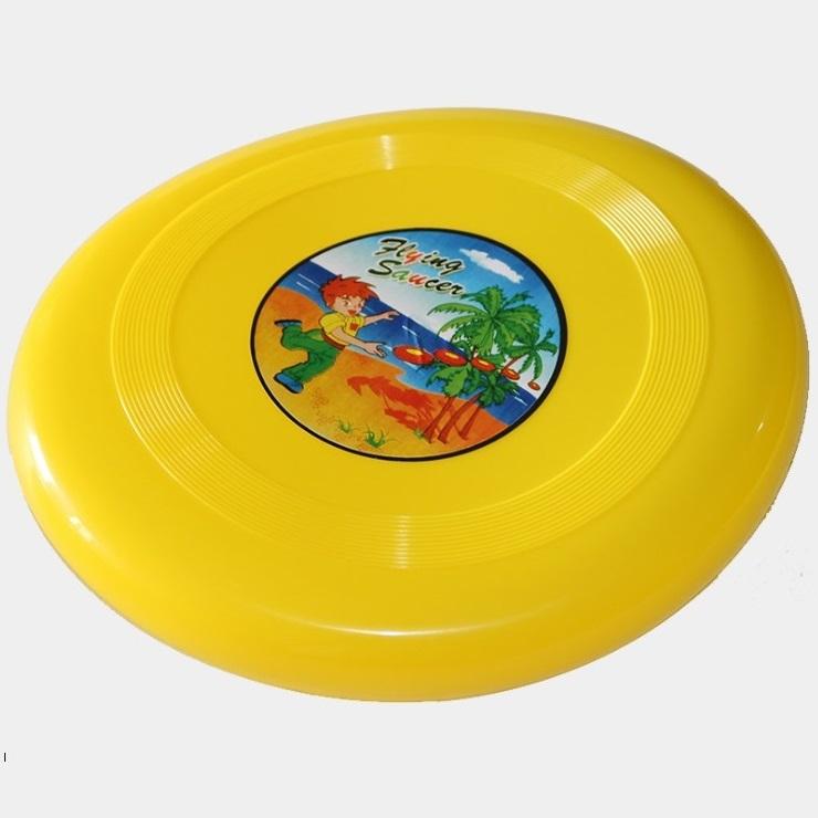 Đĩa nhựa bay FLYING cỡ 22x2cm chất liệu PE cao cấp - POKI