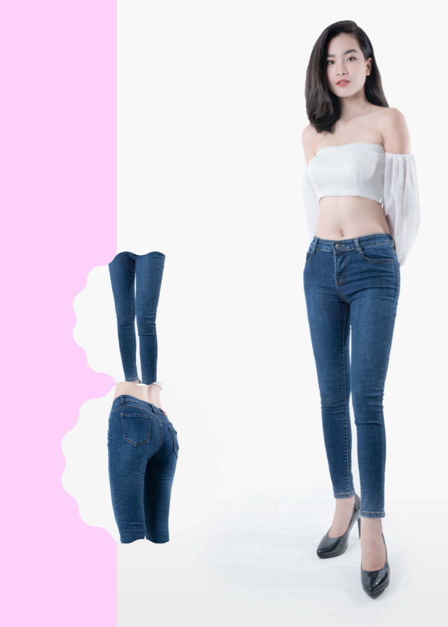 Quần jean nữ xanh đen trơn vải mềm co giãn tốt - 18415808 , 2621859721601 , 62_23095172 , 300000 , Quan-jean-nu-xanh-den-tron-vai-mem-co-gian-tot-62_23095172 , tiki.vn , Quần jean nữ xanh đen trơn vải mềm co giãn tốt