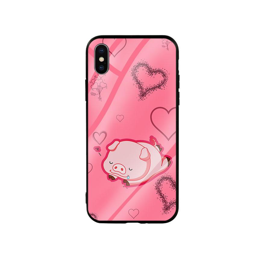Ốp Lưng Kính Cường Lực cho điện thoại Iphone X / Xs - Pig Sleep - 6077976 , 9544180095599 , 62_14812325 , 250000 , Op-Lung-Kinh-Cuong-Luc-cho-dien-thoai-Iphone-X--Xs-Pig-Sleep-62_14812325 , tiki.vn , Ốp Lưng Kính Cường Lực cho điện thoại Iphone X / Xs - Pig Sleep