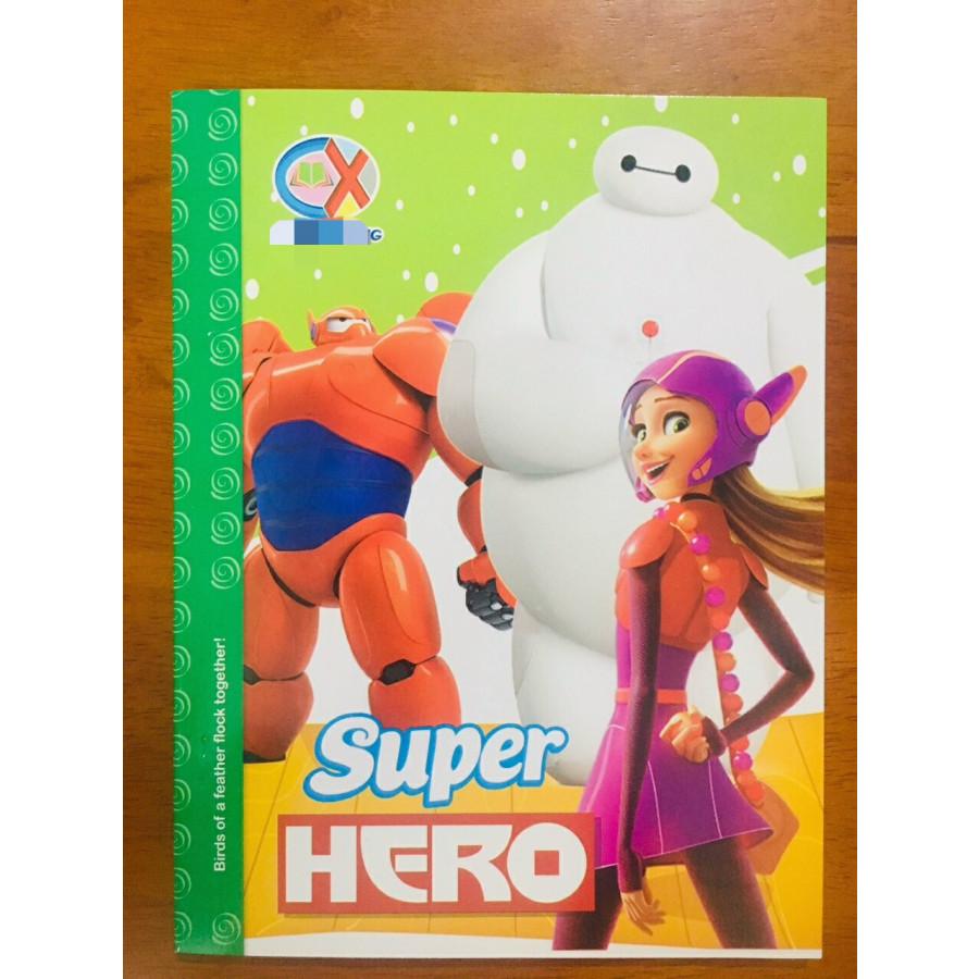 Lốc 10 quyển Super Hero 96 trang