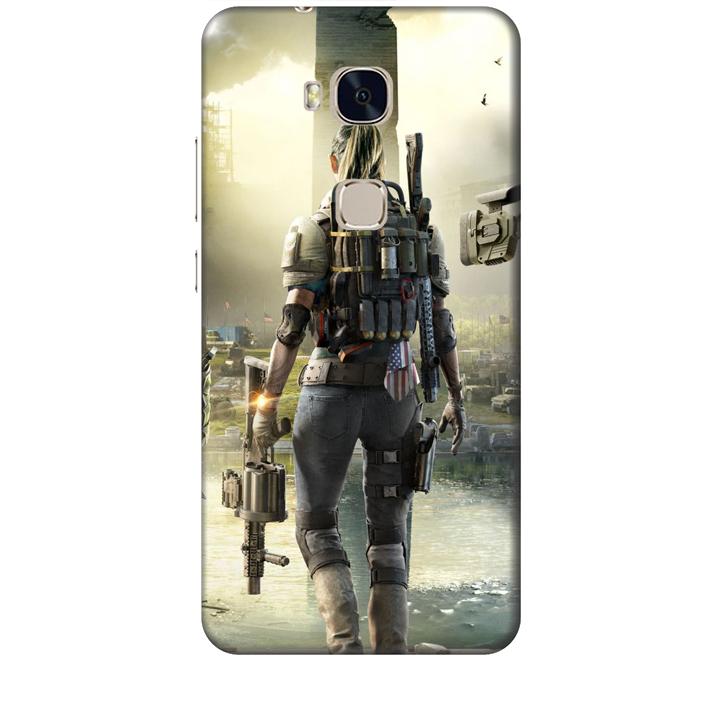Ốp lưng dành cho điện thoại Huawei GR5 hinh PUBG Mẫu 04