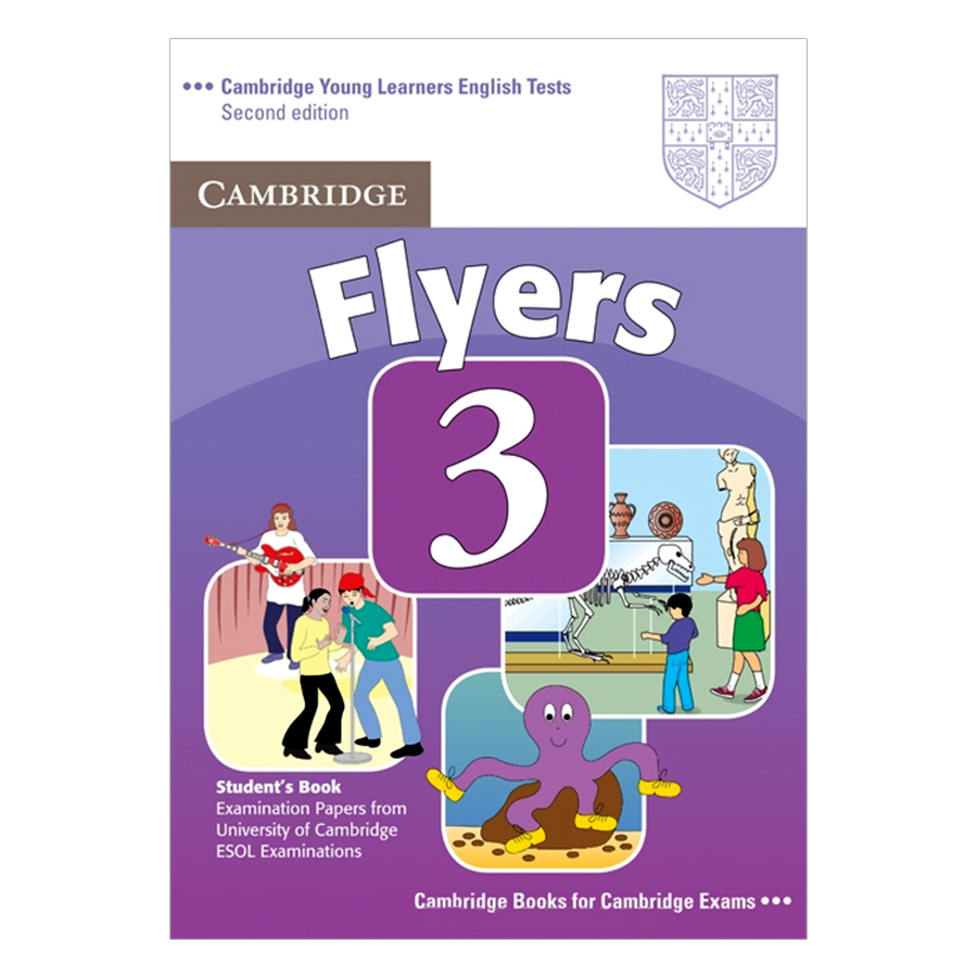 Cambridge Young Learner English Test Flyers 3: Student Book